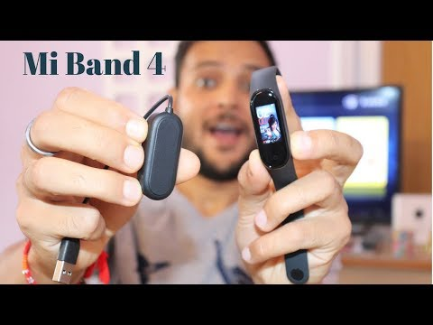 Xiaomi Mi Band 4 Unboxing & First Look - Best Budget Smartband in India