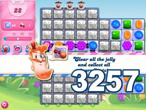 Candy Crush Saga Level 3257 (3 stars, No boosters)