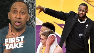 'Let's stop the nonsense' – Stephen A. on LeBron's role in Magic's resignation | First Take