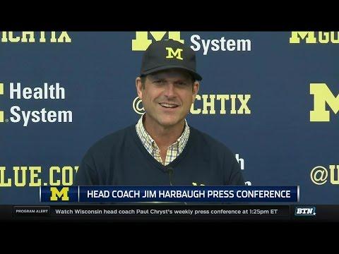Jim Harbaugh Press Conference 9-12-16 (Colorado Week)