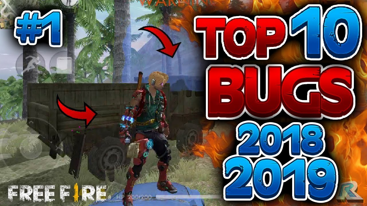 TOP10 BUGS Free Fire 2019 - 2018 - * MEJORES BUGS FREE FIRE*