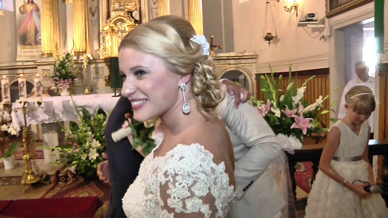 Renata I Slawek ślub Alleluja Wedding Day Hallelujah By Maja Youtube
