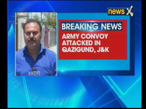 Jammu and Kashmir: Army convoy attacked by terrorists in Anantnag's Qazigund, one jawan killed