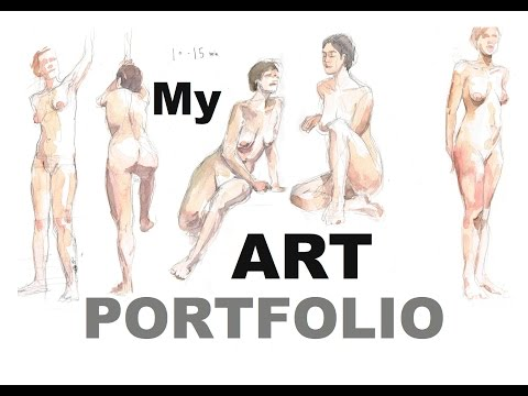 My ART PORTFOLIO 2017 / for CalArts, Ringling, and CCA