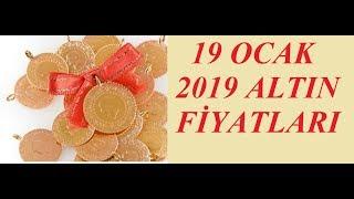 19,01,2019 Altın Fiyatları Dolar Fiyatları Euro Ne Kadar Sterlin Kaç Lira