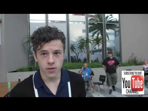 Nolan Gould outside the Variety's Power Of Young Hollywood at NeueHouse Hollywood