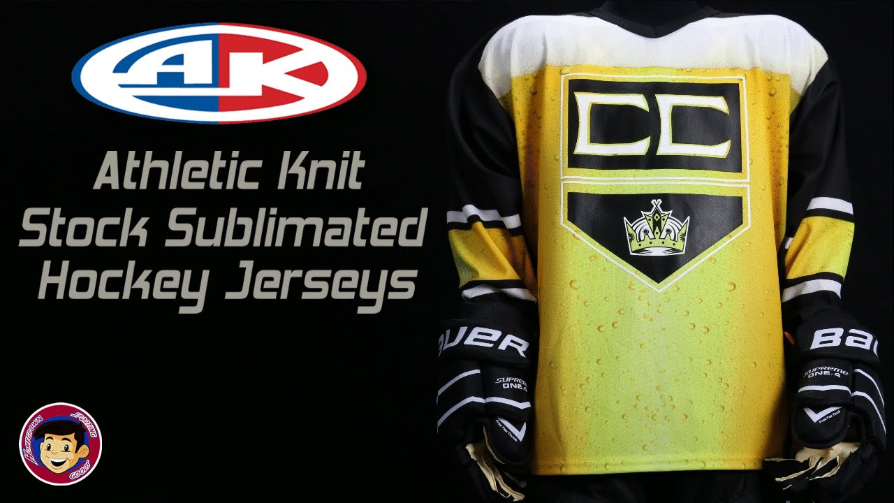 Athletic Knit Hockey Jerseys : Sublimated Hockey Jerseys - Athletic Knit / Homegrown Sporting Goods - YouTube
