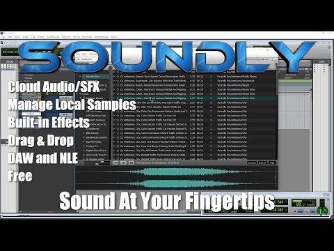 Soundly - Cloud SFX, Sample Browser - Sound At Your Fingertips