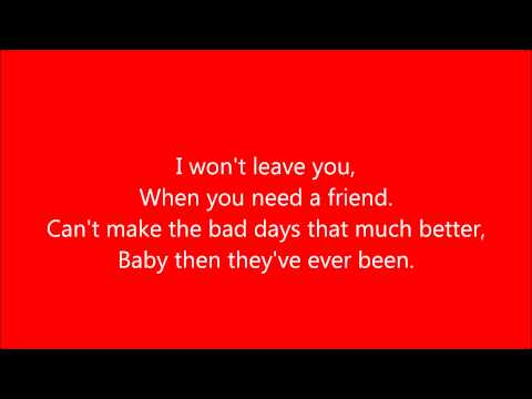 Gary Allan - I Can Love You (Lyrics)