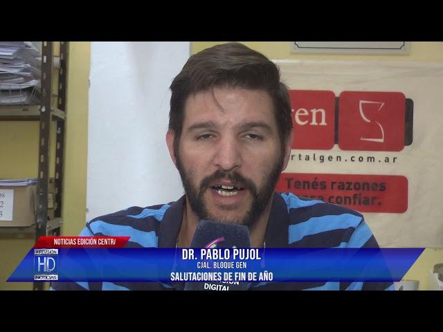 Pablo Pujol Salutaciones de fin de año