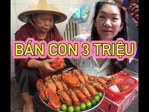 """NỮ VIỆT KIỀU CANADA """"CÀN QUÉT"""" CUA DÌ 3 - Ẩm thực Việt Nam 247"""