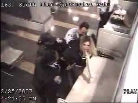 Police Brutality at Reagan National Airport in Washington