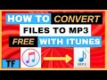 HOW TO CONVERT M4A TO MP3 FREE With iTunes 2021 | Best M4A to MP3 Converter Easy Windows Tutorial