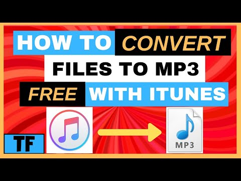 HOW TO CONVERT M4A TO MP3 FREE With iTunes 2021 | Best M4A to MP3 Converter [Easy Windows Tutorial]