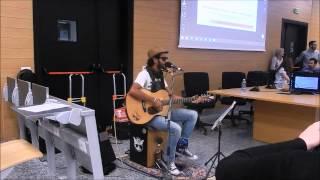 Edwin JUAN live @ Università Milano Bicocca - 13/05/2015