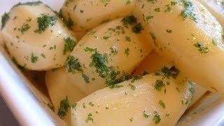 Making Parsley Potatoes
