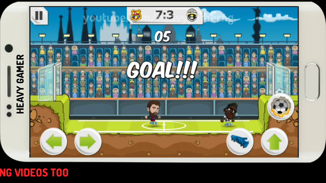 Award Winning & The Most Addactive Football Game For Android And IOS | Y8  Football League - YouTube