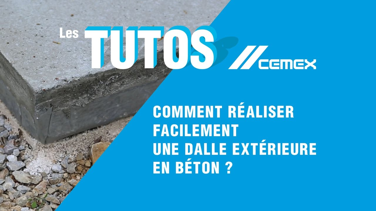 Dalle Beton Terrasse Joint De Dilatation Comment Couler Une Dalle En Béton Guide Complet