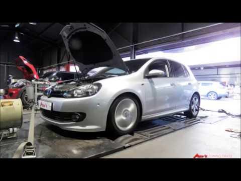 2012 VW Mk6 Golf 2 0 TDI Mar's ECT + DSG Tune Dyno Test 193WHP