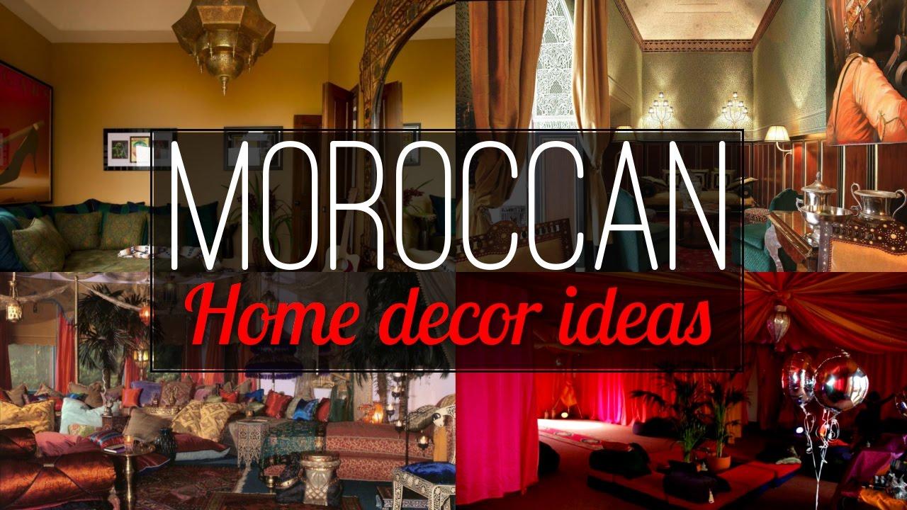 6 Moroccan Home Decor Ideas Youtube