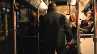 Agression du chauffeur dans le bus