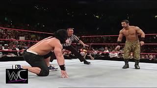 John Cena Vs Daivari Blindfolded, WWE - You Cant See Me Match in Raw