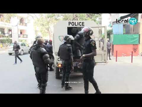 Sénégal : le film des manifestations du 19 avril 2018 contre la loi portant parrainage