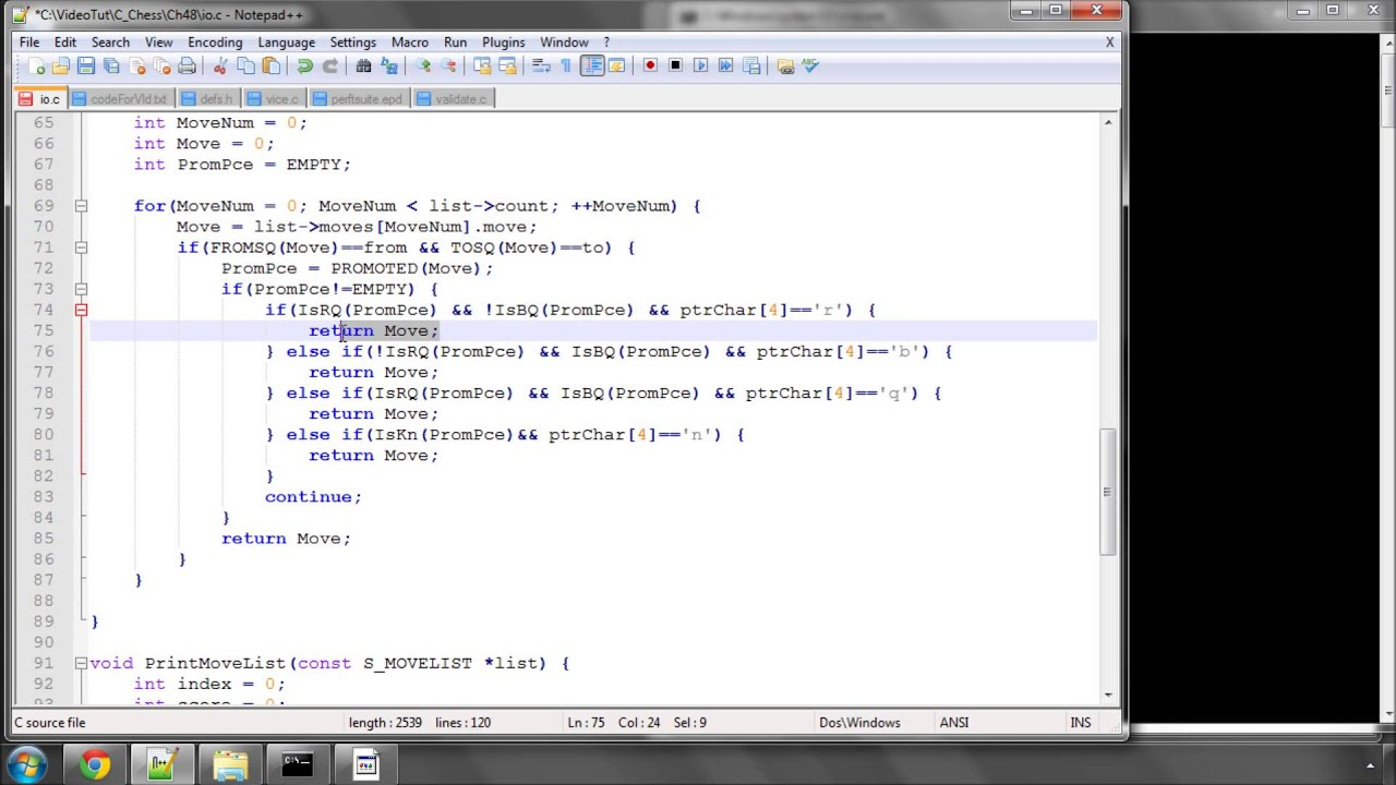 Programming A Chess Engine in C Part 1 - Resources and ...