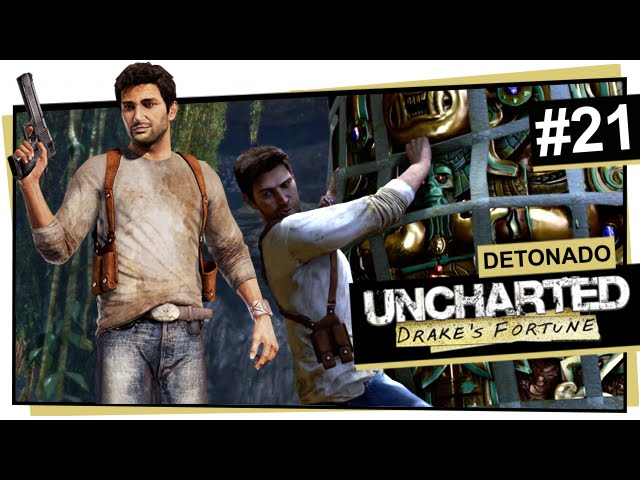 Uncharted #21 - Ouro e ossos / Uncharted: Drake\'s Fortune (Português)