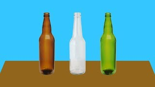 How Does the Color of a Glass Bottle Affect the Beer Inside?