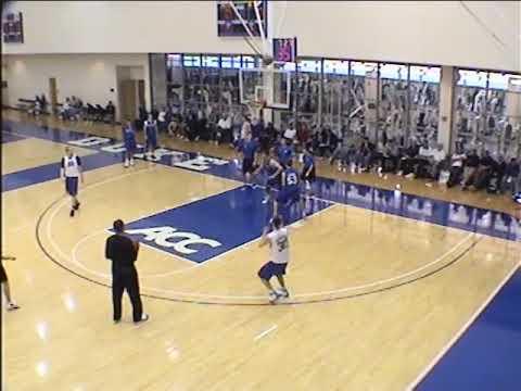 Duke Basketball's Screening & Shooting Drill for Guards!