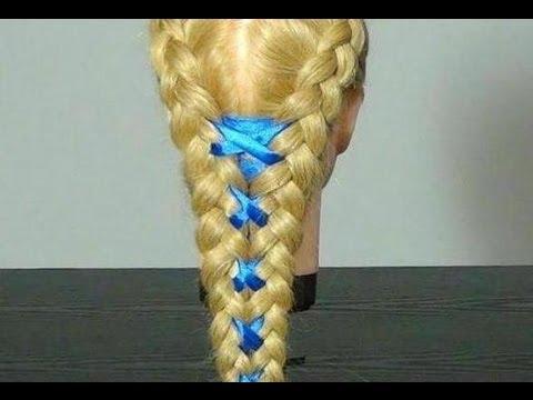 Прическа: Плетение кос с