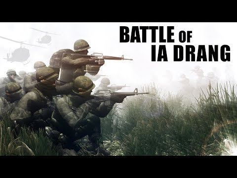 Battle of IA DRANG | Vietnam War | ArmA 3 Machinima