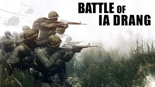 Battle of IA DRANG | Vietnam War | ArmA 3 Machinima