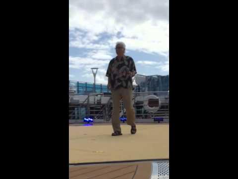 Jack Jones practice session for Love Boat