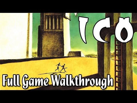 Ico (2002) Full Game Walkthrough Playthrough [1080p HD] (Secret Ending+Lightsaber)