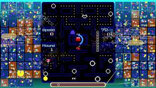 Pac-Man 99 Victory 1st Place Gameplay