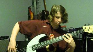 Mothership Reconnection by Daft Punk, Bass Cover