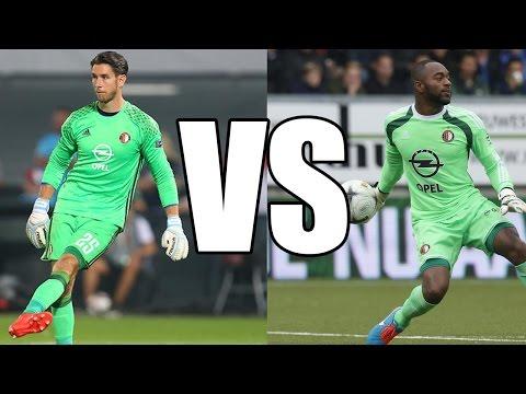 Feyenoord Rotterdam - Kenneth Vermeer VS. Brad Jones