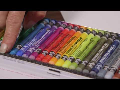 Caran d'Ache Neocolour I & II Wax Pastels