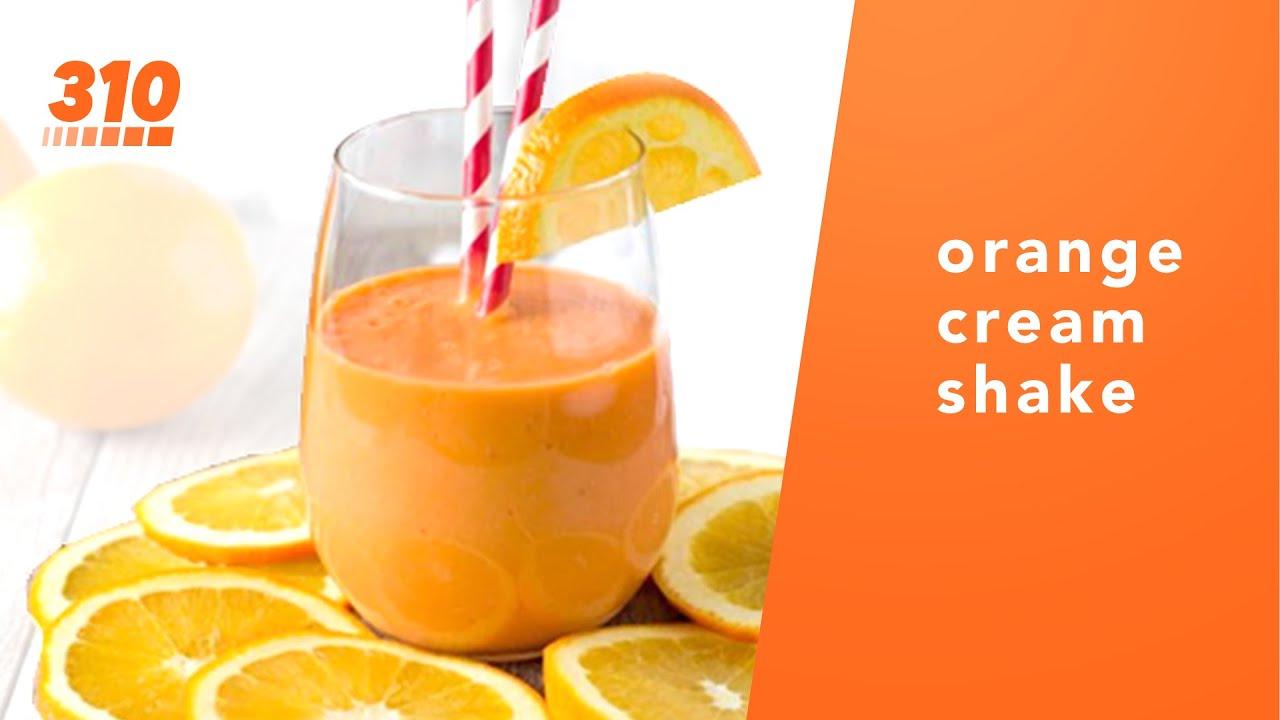 310 Recipes Orange Cream Protein Shake Vanilla 310 Nutrition Smoothie Youtube