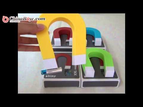 U Shape Magnetic Magnet Key Holder-Green