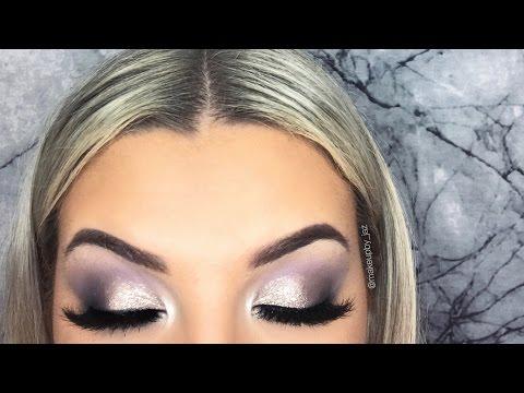 Cool Toned Grey Smokey Eye Makeup Tutorial