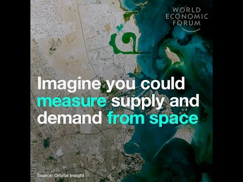 Imagine you could measure supply and demand from space