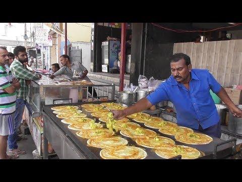 It's a Breakfast time in Hyderabad Street -SRI SAI KRISHNA Meals & Tiffins-100 Dosa Finished an Hour