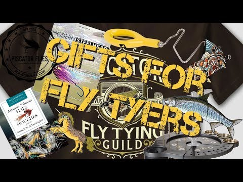 Gift Ideas For Fly Tyers And Fishers 2017 Edition Books, Decals, Fly Tying, Shirts & More Christmas