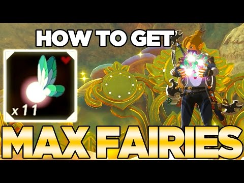 Trick To Get MAX FAIRIES in Breath of the Wild | Austin John Plays