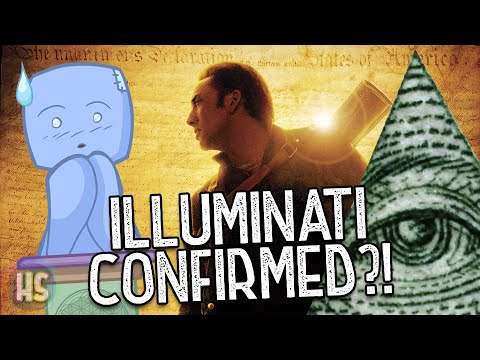 The Hiding Illuminati of National Treasure