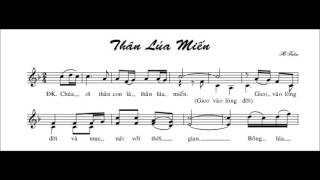Thân Lúa Miến   -   Mi Trầm   -    (B) .