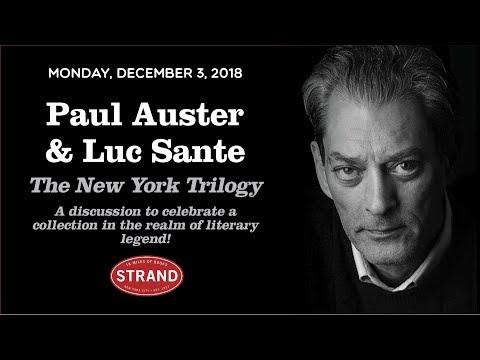 Paul Auster & Luc Sante | The New York Trilogy Manuscript Edition